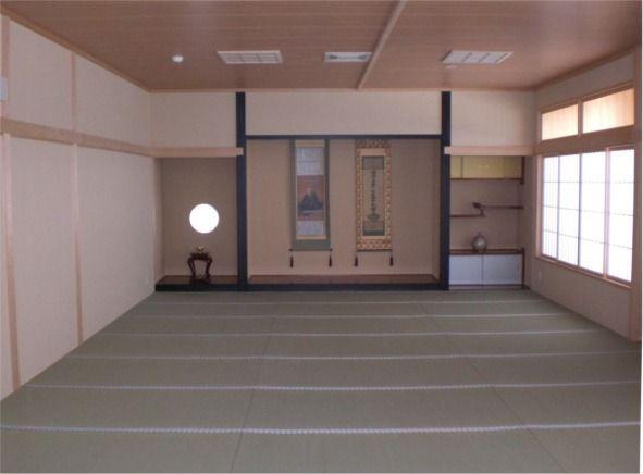 寺院建築施工例