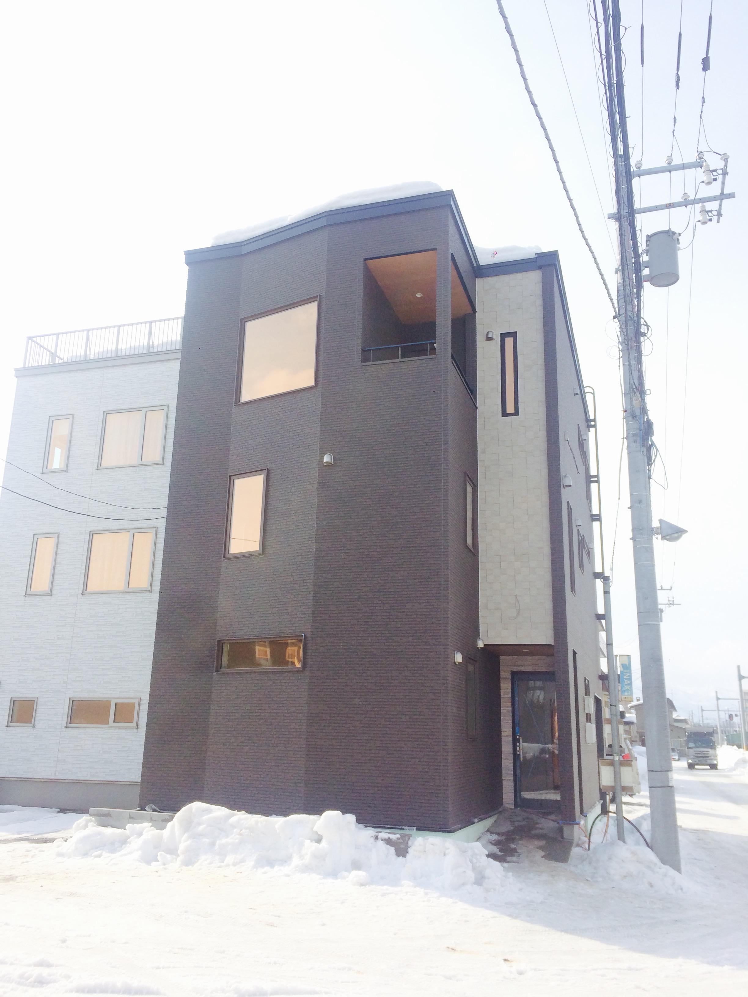 太平 木造3階建工事 ⑨外部完成