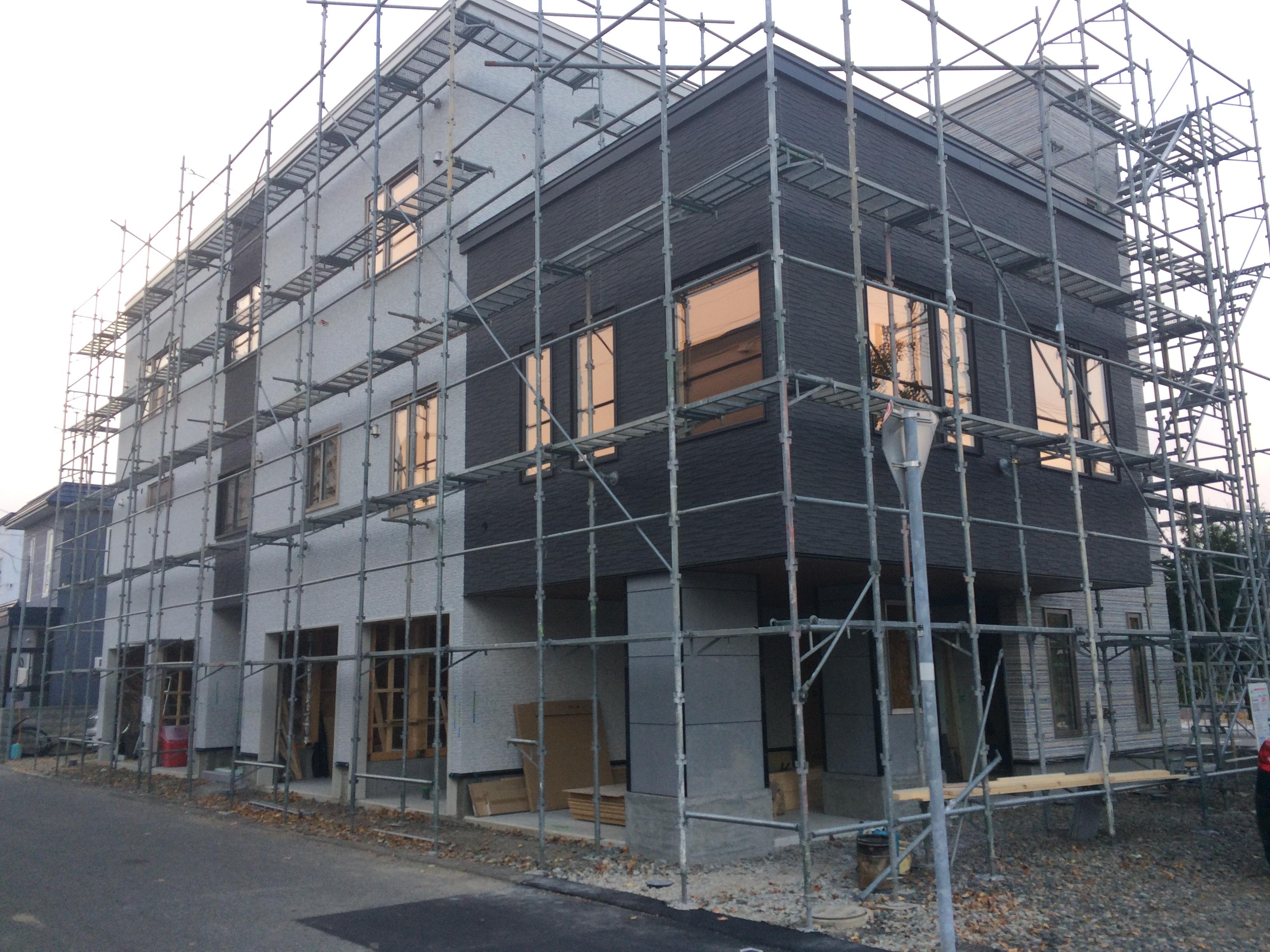 S様邸新築工事 ⑬外壁工事完了
