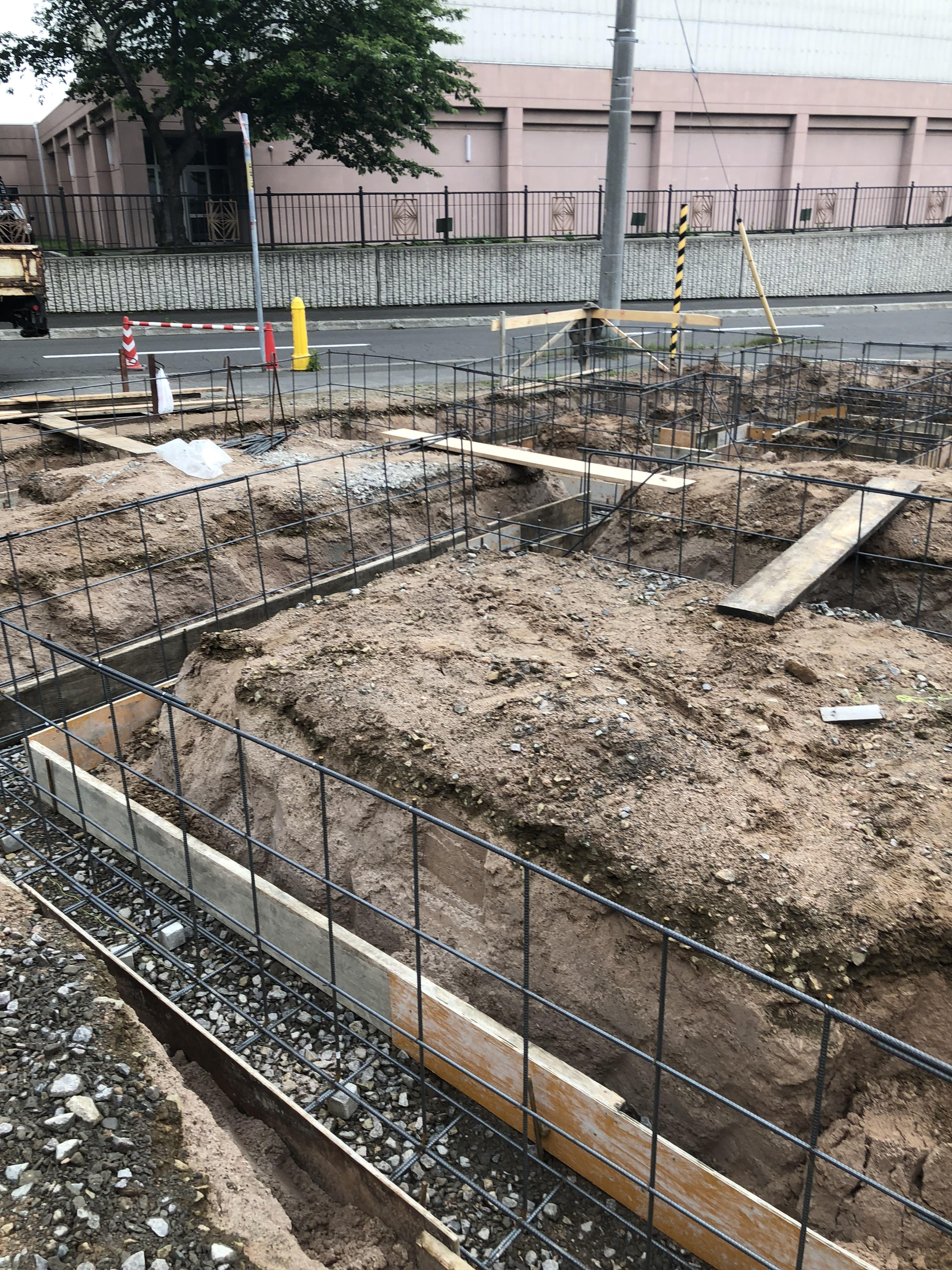 札幌 O様邸新築工事 ①基礎工事開始