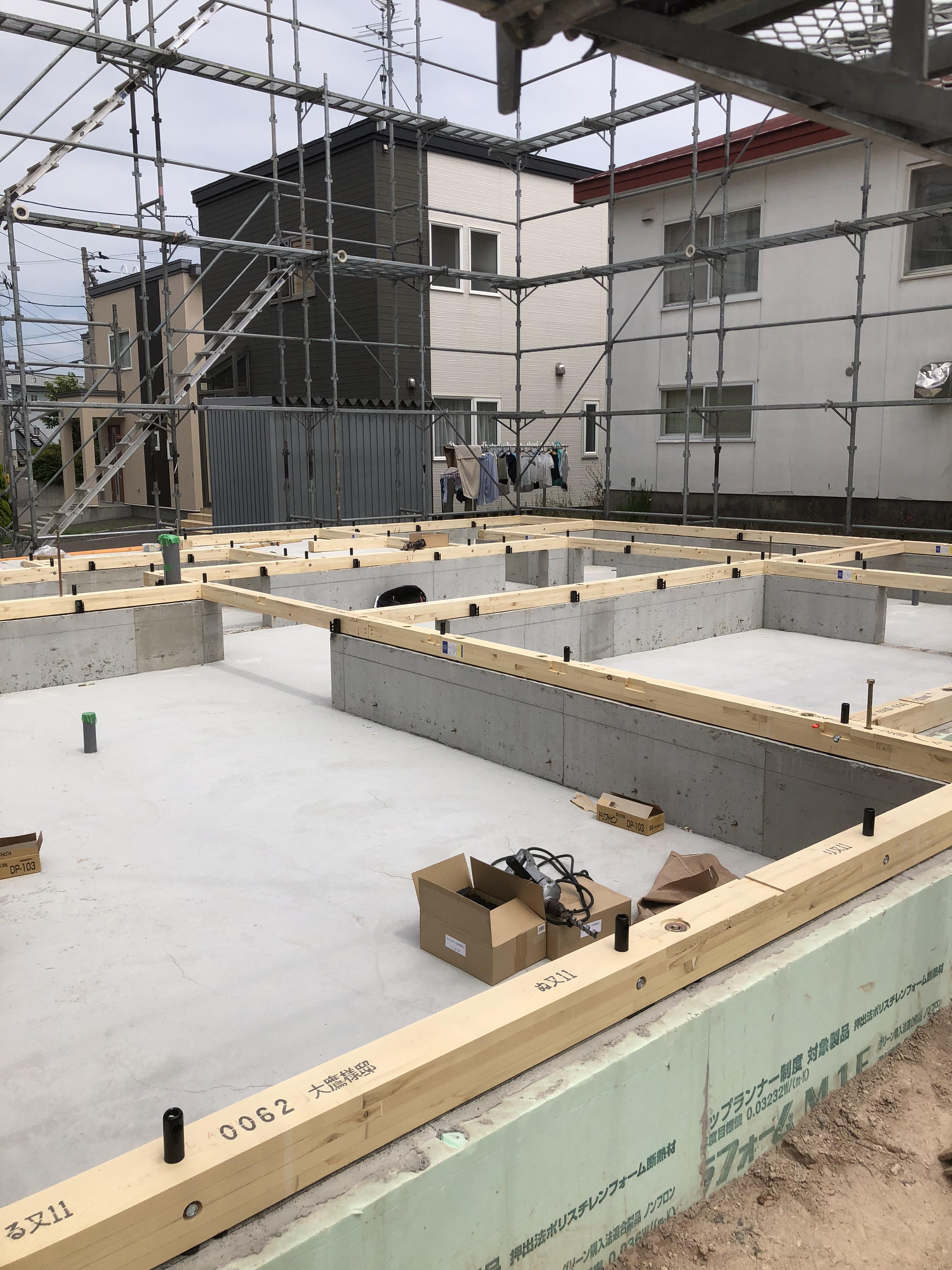 札幌 O様邸新築工事②
