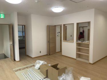 発寒 グループホーム改修工事 ⑧1階完成