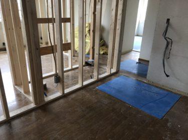 発寒 グループホーム改修工事⑨2階工事開始