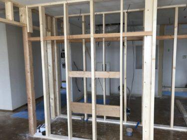 発寒 グループホーム改修工事 ⑩2階 内部下地