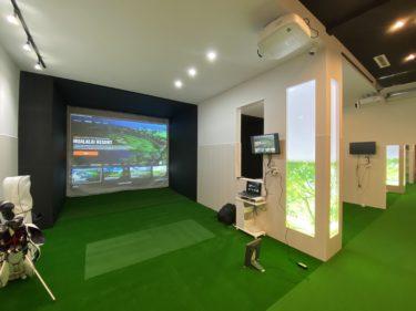 江別市いずみ野 シミュレーションゴルフ施設新築工事 完成 one-golf