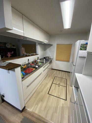 K様邸キッチン改修工事